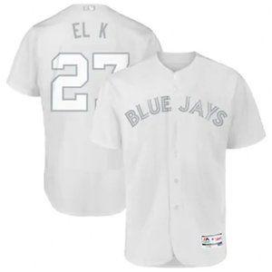 """Blue Jays Vladimir Guerrero Jr. """"El K"""" #27 Jersey"""